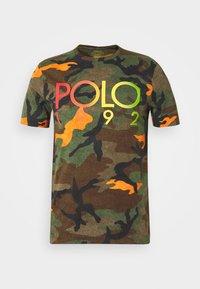 Polo Ralph Lauren - Triko spotiskem - southern orange - 4
