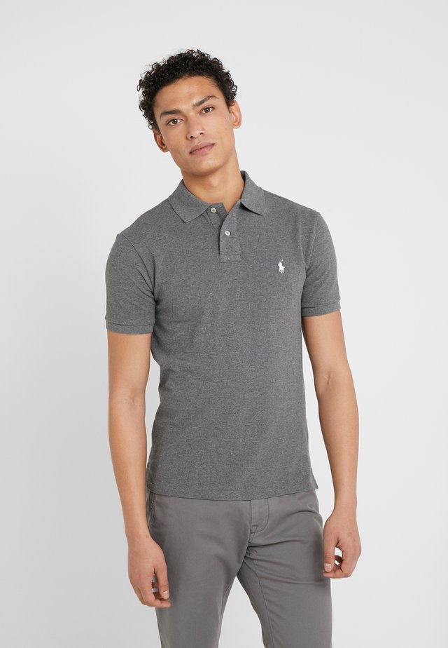 SLIM FIT MODEL - Polo - fortress grey heather