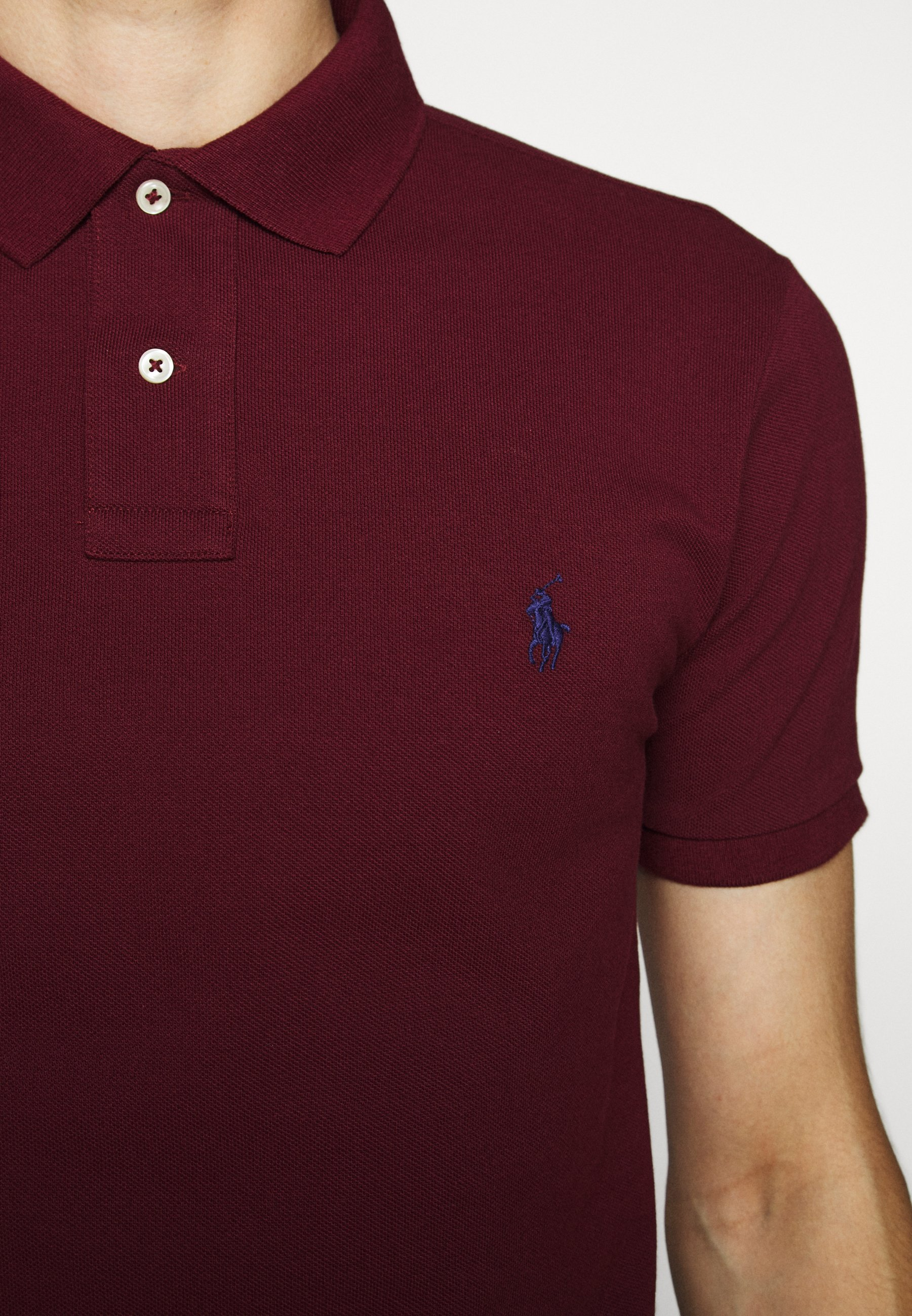 Polo Ralph Lauren Slim Fit Model - Poloshirts Classic Wine