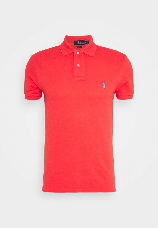 SLIM FIT MODEL - Poloshirt - racing red