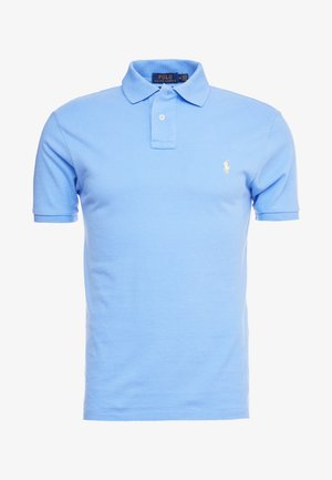 SLIM FIT MODEL - Poloshirts - cabana blue
