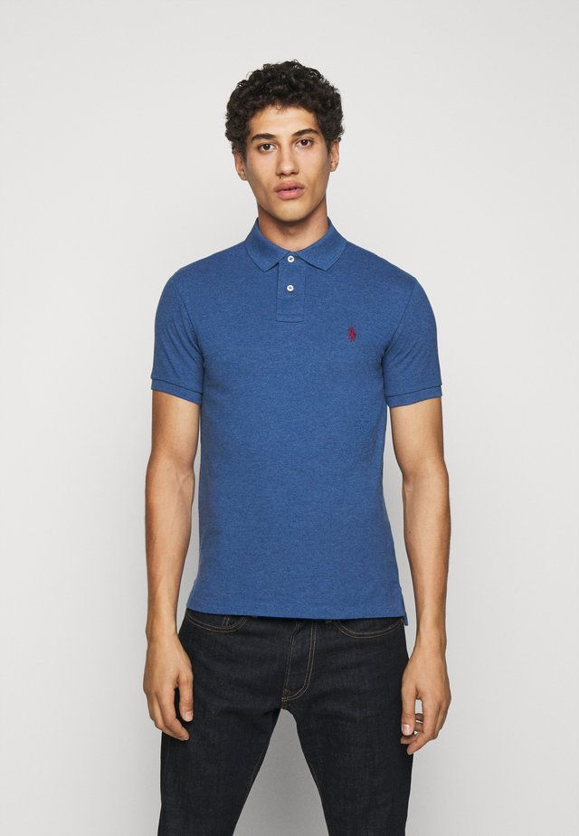 SLIM FIT MODEL - Polo - royal heather
