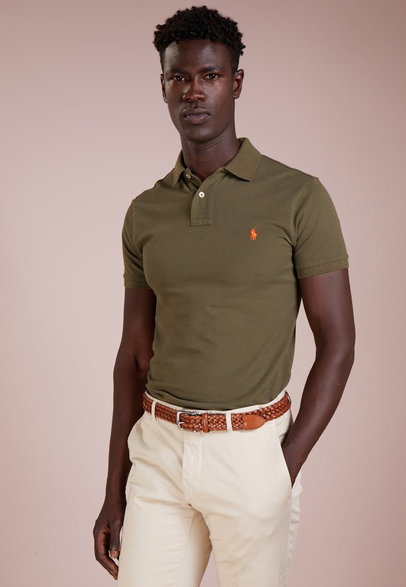 Polo Ralph Lauren - SLIM FIT MODEL  - Polo - expedition olive