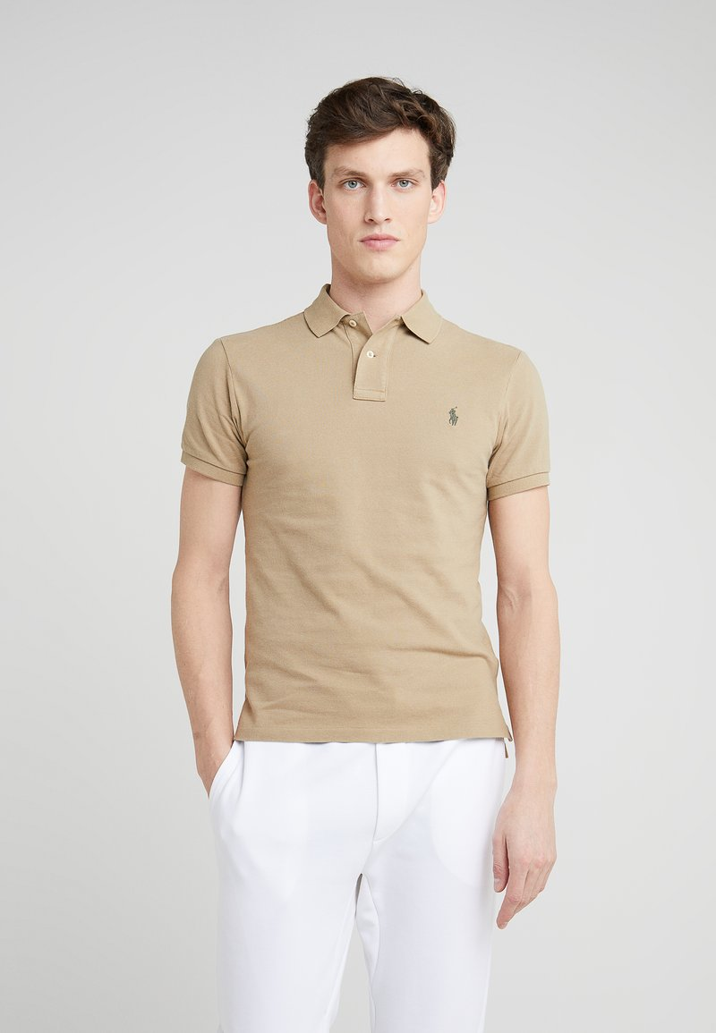 Polo Ralph Lauren - SLIM FIT MODEL  - Poloskjorter - boating khaki