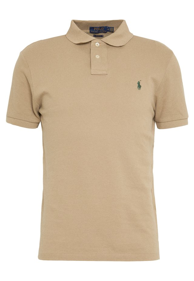 SLIM FIT MODEL - Polo - boating khaki
