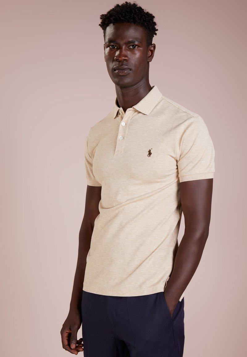 Polo Ralph Lauren - SLIM FIT  - Polo - expedition dune