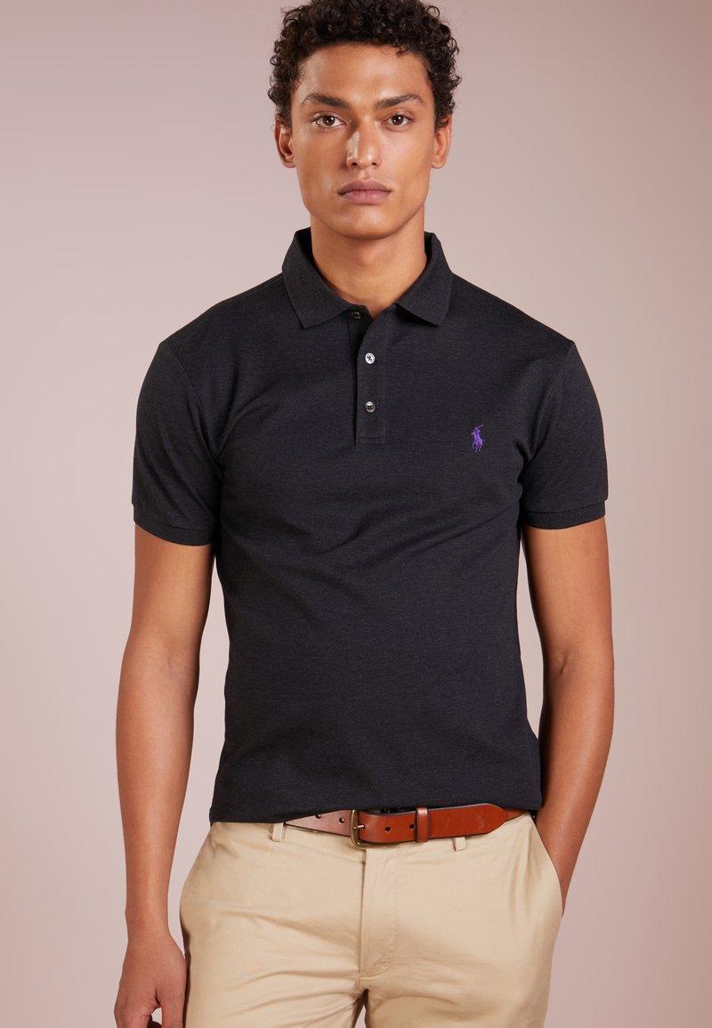 Polo Ralph Lauren - SLIM FIT  - Polo shirt - dark granite heat