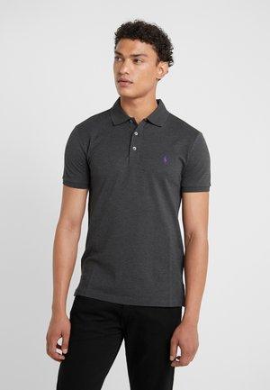SLIM FIT  - Poloshirt - dark grey heather