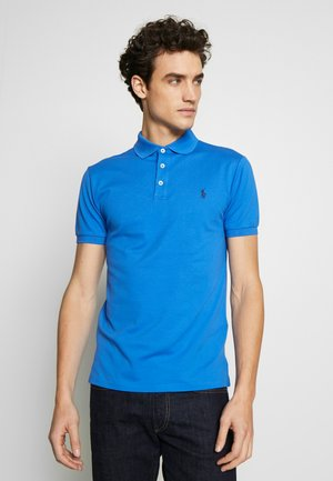 SLIM FIT MODEL - Polo - colby blue