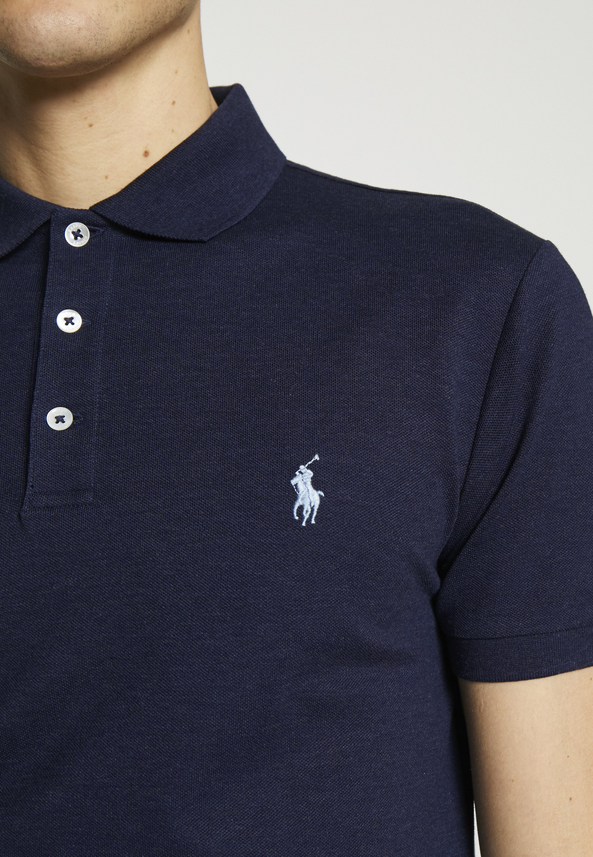 Polo Ralph Lauren SLIM FIT MODEL - Piké - spring navy - Herrkläder Rabatter