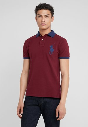 SLIM FIT - Koszulka polo - classic wine