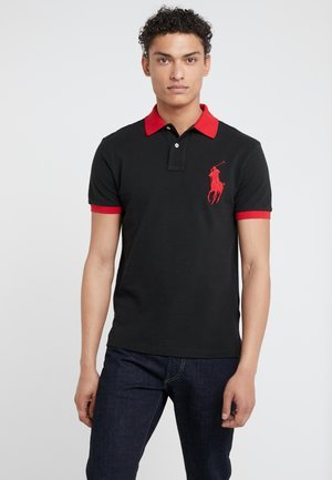 SLIM FIT - Polotričko - black