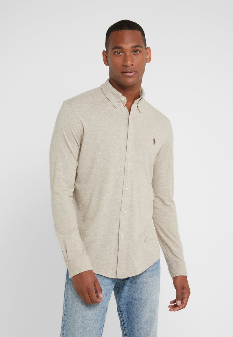 Polo Ralph Lauren - LONG SLEEVE - Shirt - tuscan beige heat