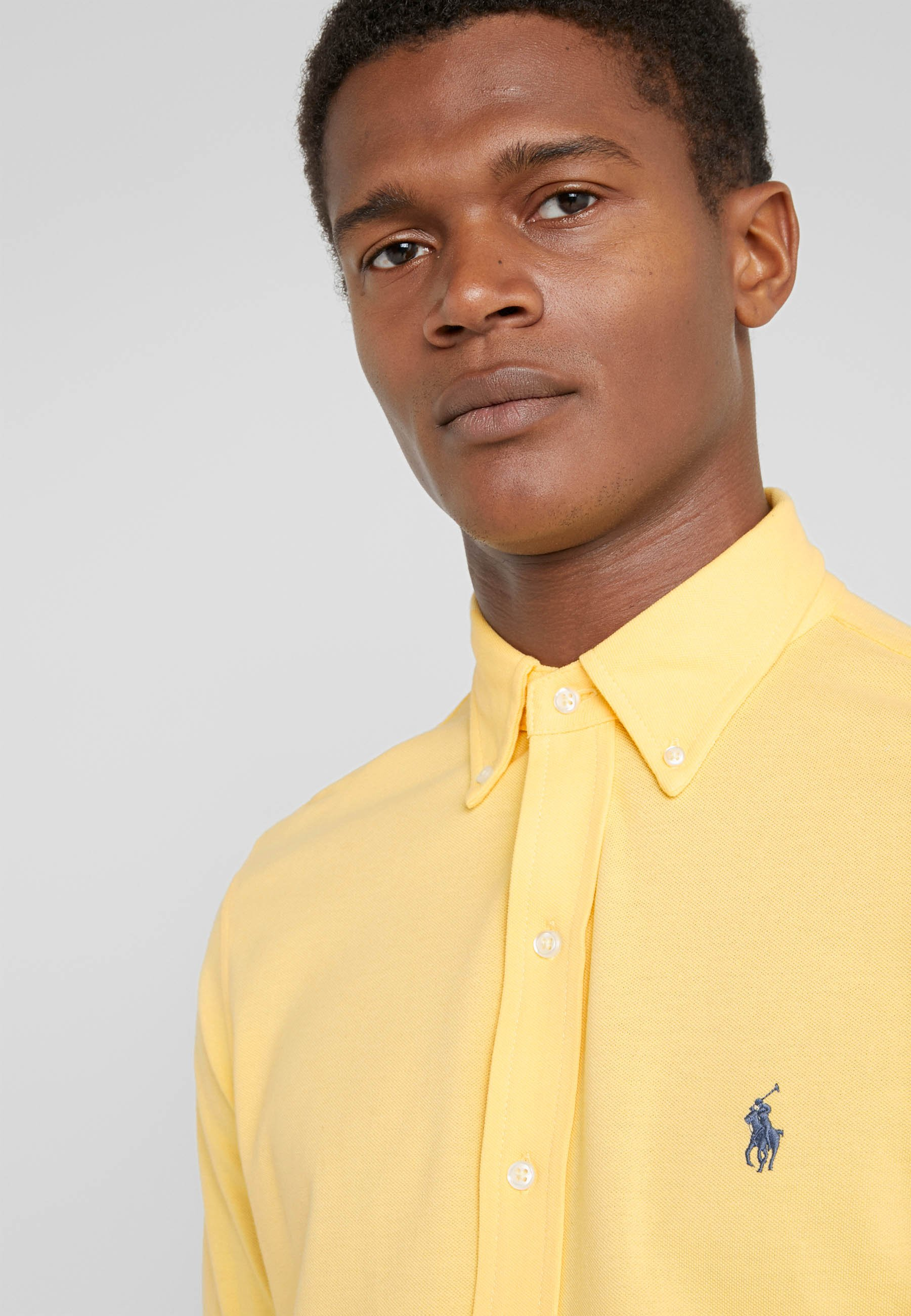 Polo Ralph Lauren LONG SLEEVE - Koszula - empire yellow