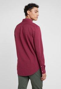 Polo Ralph Lauren - LONG SLEEVE - Camisa - classic wine - 2