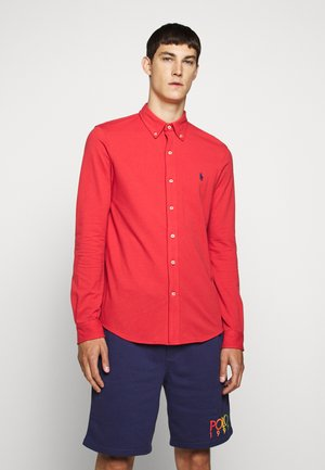 LONG SLEEVE - Chemise - evening post red