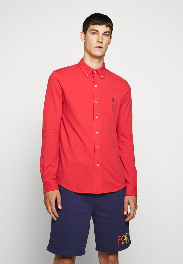 LONG SLEEVE - Camicia - evening post red