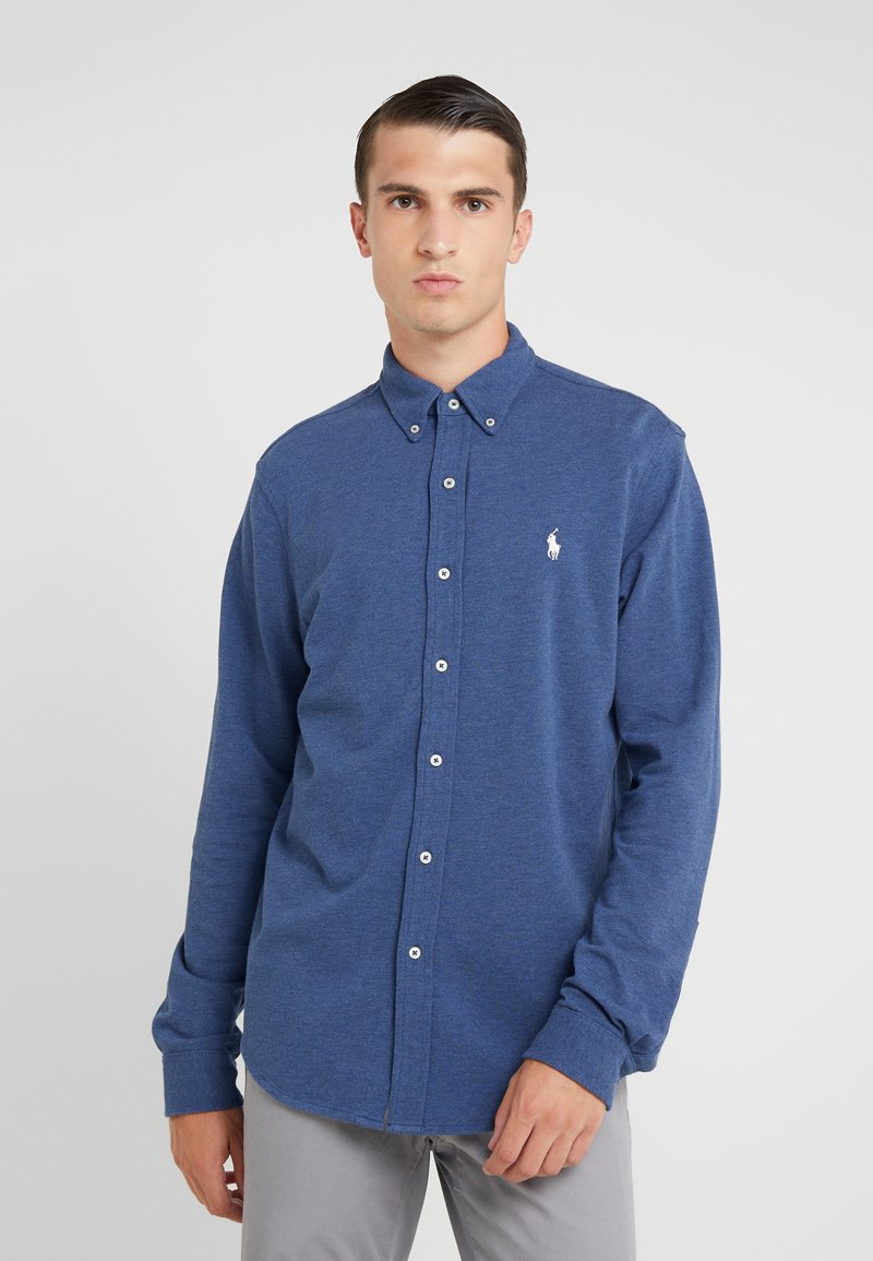 Polo Ralph Lauren - LONG SLEEVE - Overhemd - derby blue heather