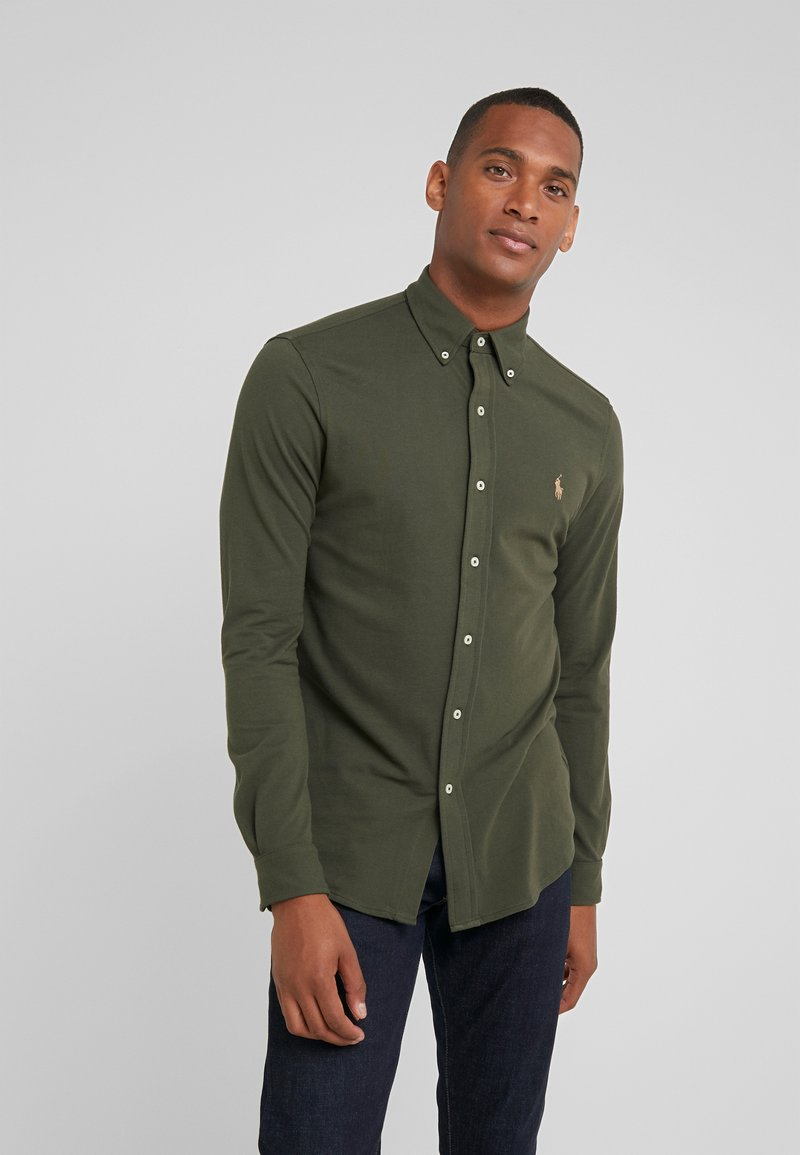 Polo Ralph Lauren - LONG SLEEVE - Skjorter - estate olive