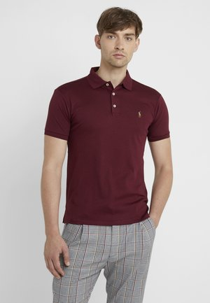 SLIM SHORT SLEEVE - Polo shirt - classic wine