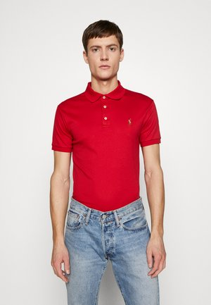 SHORT SLEEVE SLIM FIT - Polo shirt - red