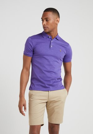 SHORT SLEEVE SLIM FIT - Polo shirt - wild berry heather