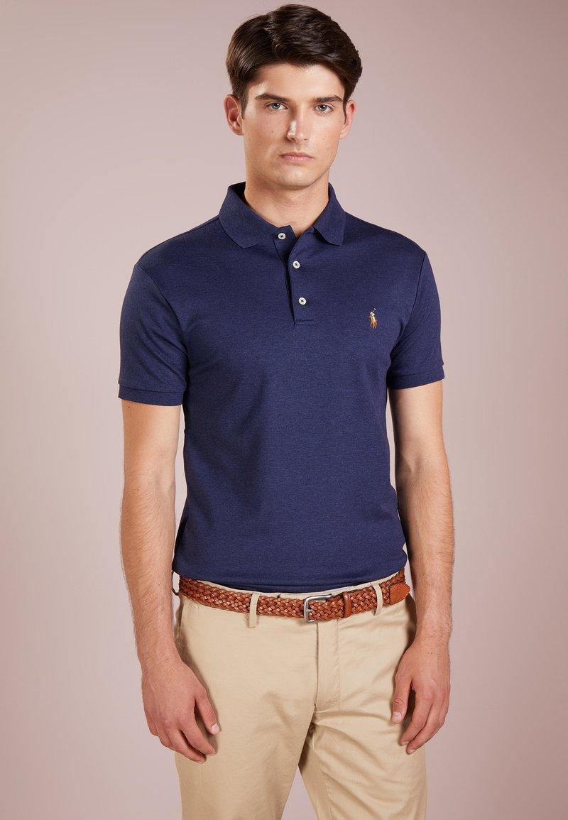 Polo Ralph Lauren - SHORT SLEEVE SLIM FIT - Polo shirt - spring navy heath
