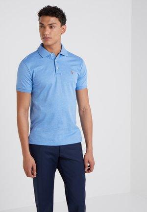 Polo shirt - soft royal heather
