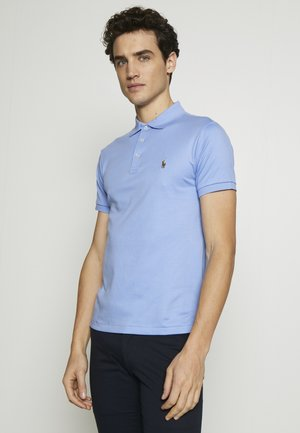 SHORT SLEEVE SLIM FIT - Poloshirt - cabana blue