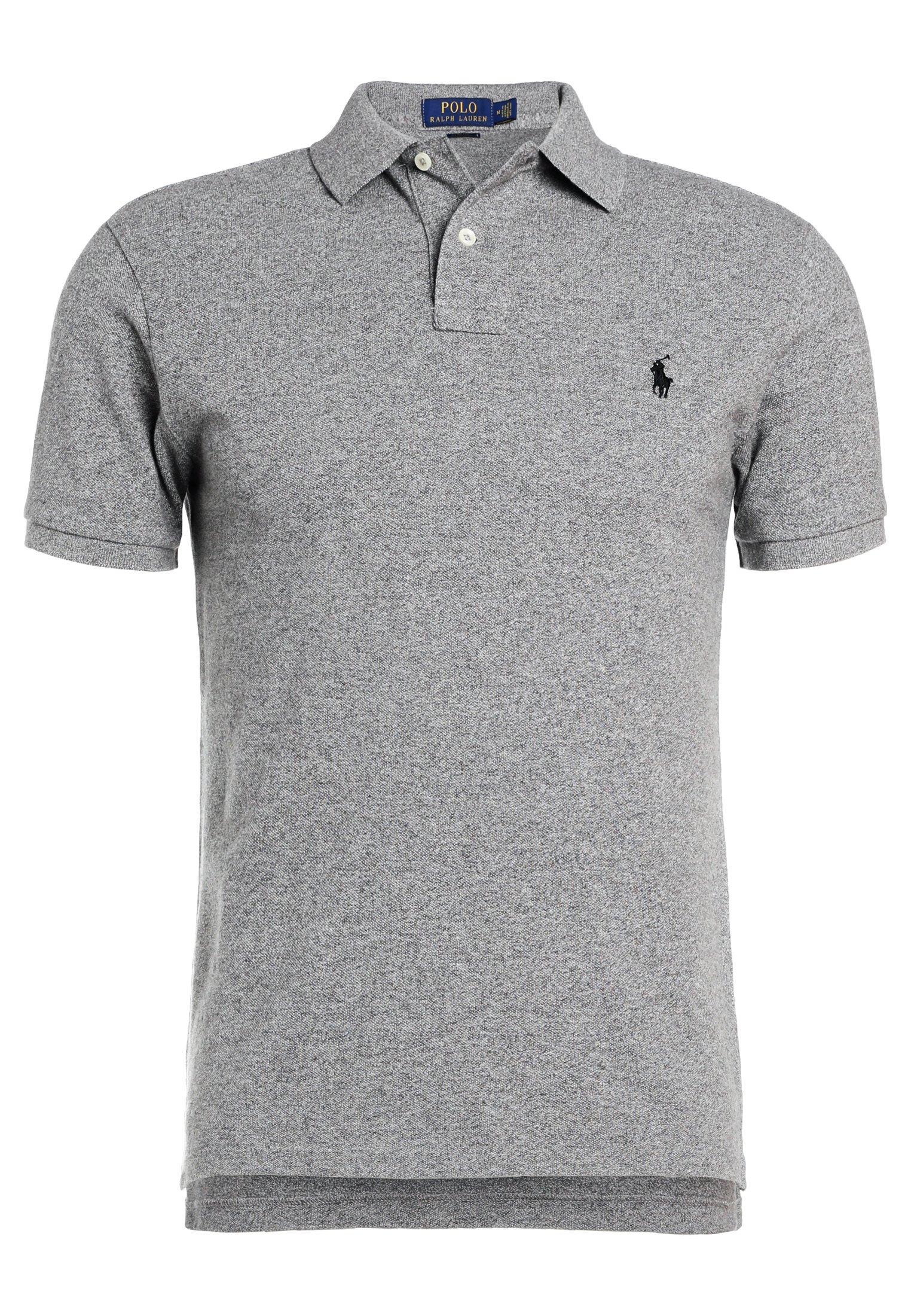 Polo Ralph Lauren SLIM FIT - Koszulka polo - canterbury heather