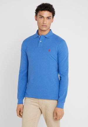 BASIC  - Polo - blue heather