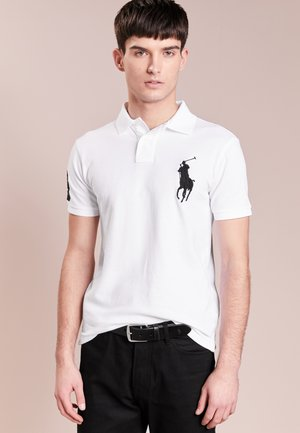 BASIC SLIM FIT - Polo - white