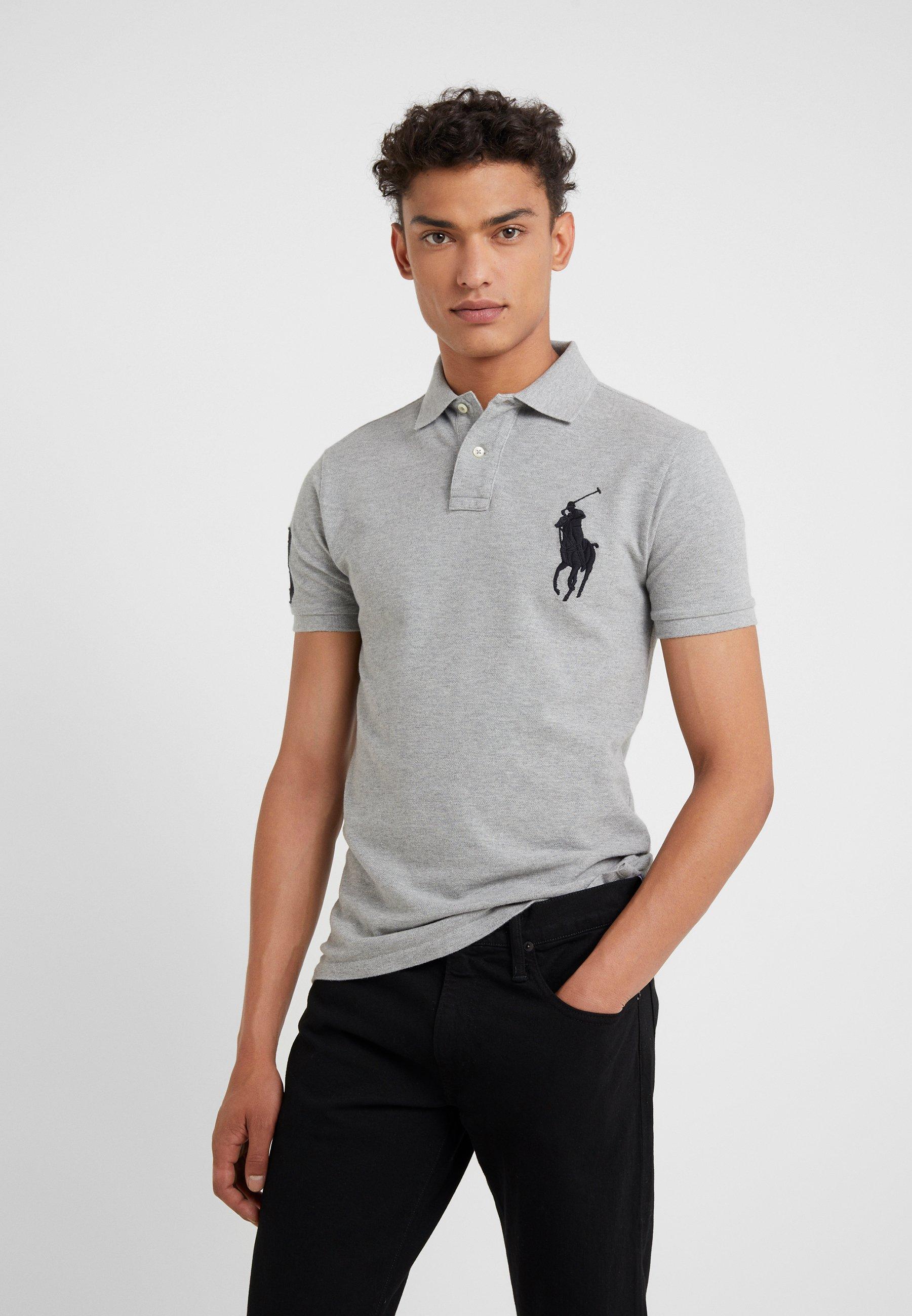 Polo Ralph Lauren BASIC SLIM FIT - Koszulka polo - andover heather
