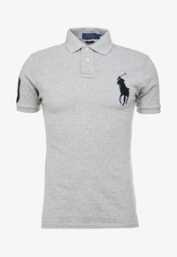 Polo Ralph Lauren - BASIC SLIM FIT - Polo - andover heather - 4