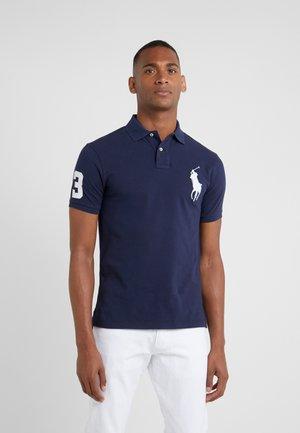 BASIC SLIM FIT - Polo shirt - newport navy