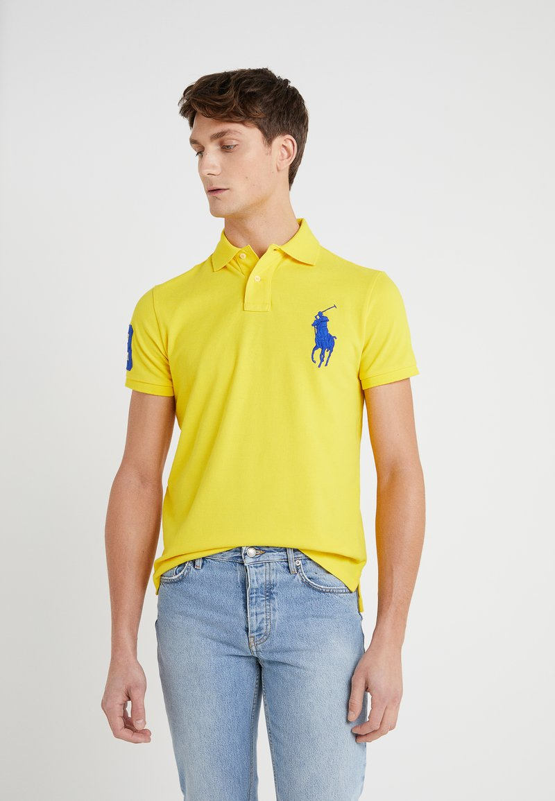 Polo Ralph Lauren - BASIC CUSTOM SLIM FIT - Polo - lemon rind