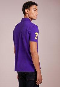 Polo Ralph Lauren - BASIC CUSTOM SLIM FIT - Polo - chalet purple - 2