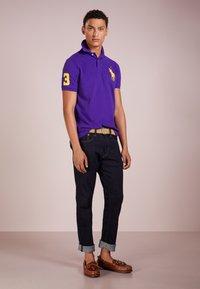 Polo Ralph Lauren - BASIC CUSTOM SLIM FIT - Polo - chalet purple - 1