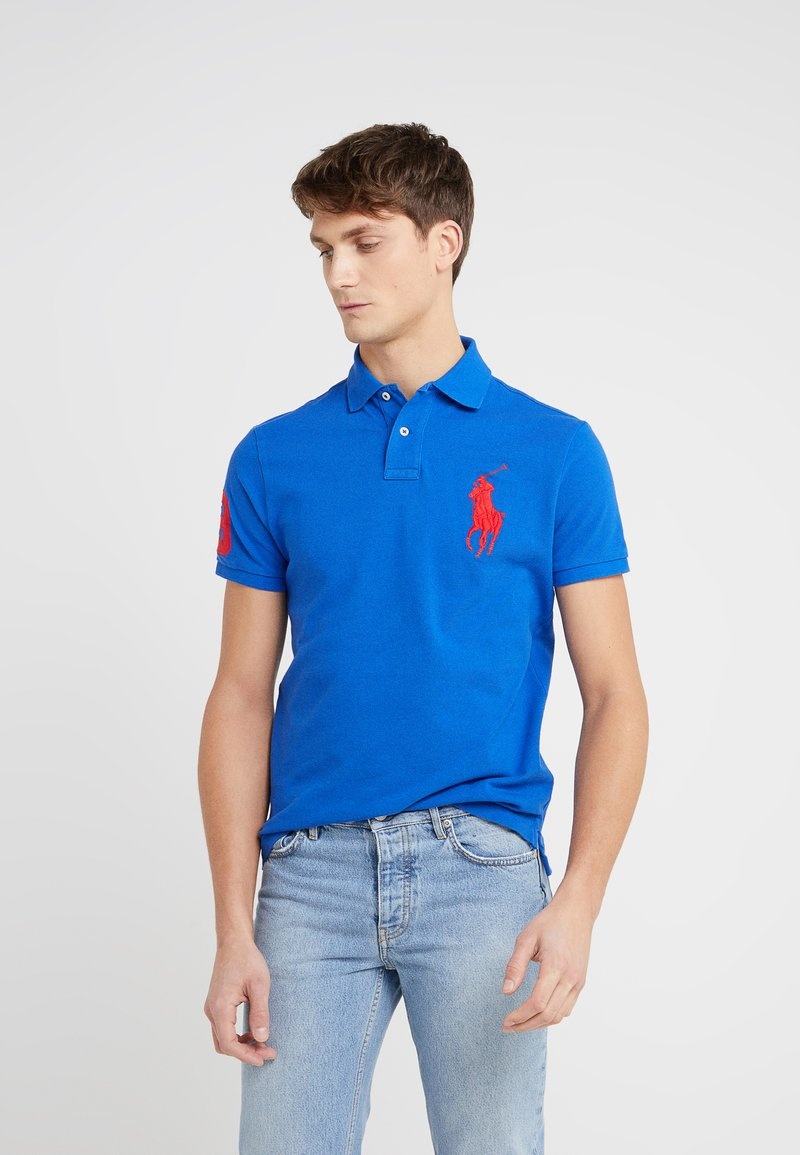 Polo Ralph Lauren - BASIC CUSTOM SLIM FIT - Polo - blue saturn