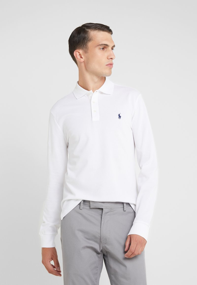 Polo Ralph Lauren - STRETCH  - Poloskjorter - white