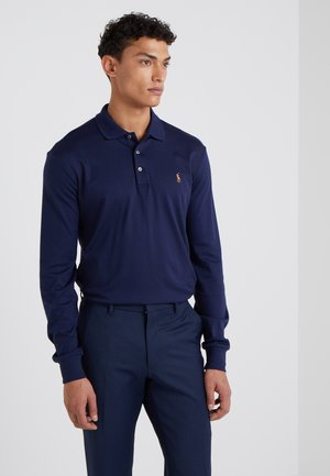 PIMA KNT - Polo shirt - french navy
