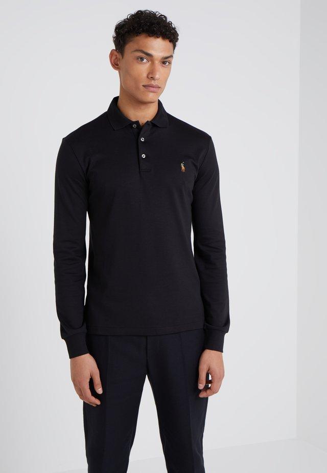 PIMA KNT - Poloshirts - black