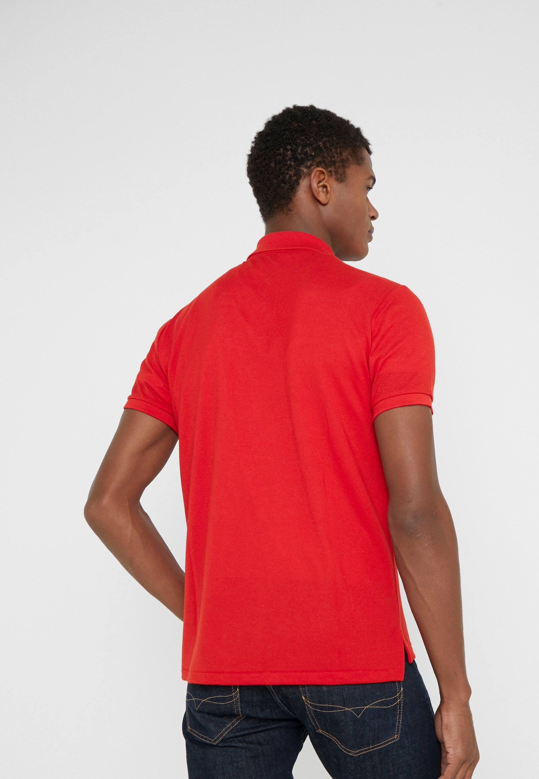 Polo Ralph Lauren SLIM FIT - Koszulka polo - red