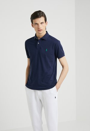 SLIM FIT - Polo - newport navy
