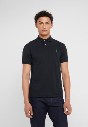 SLIM FIT - Polo shirt - polo black
