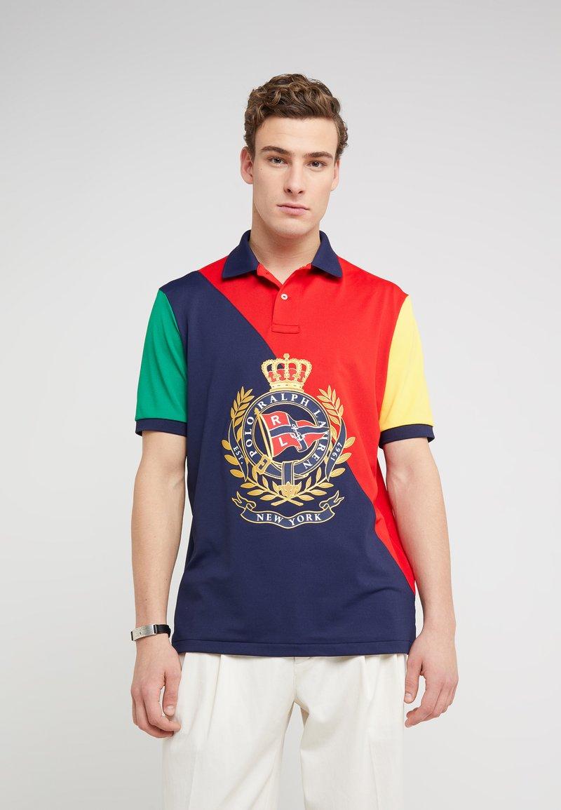 Polo Ralph Lauren - TECH - Poloshirt - red/multi
