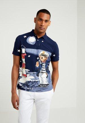 BASIC CLASSIC FIT - Polo shirt - cruise navy