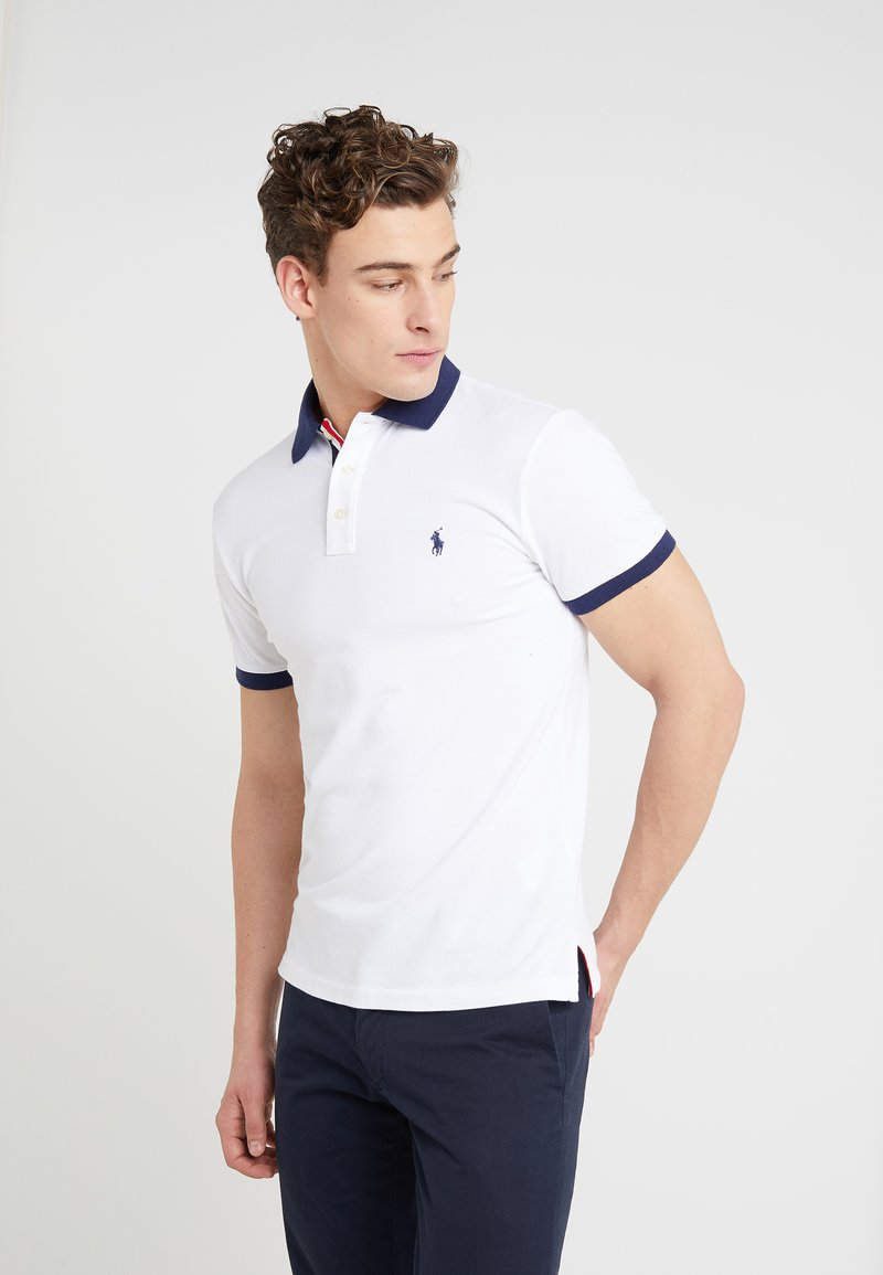 Polo Ralph Lauren - BASIC SLIM FIT - Poloshirt - white