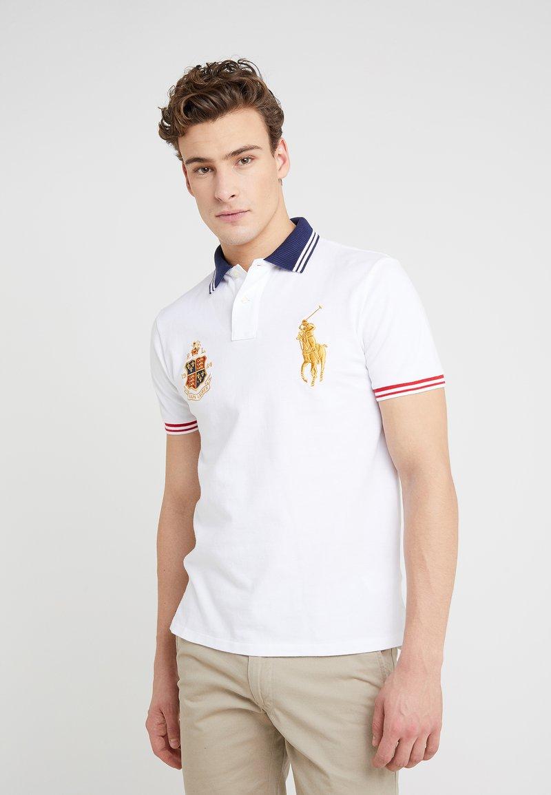 Polo Ralph Lauren - BASIC SLIM FIT - Poloshirts - white