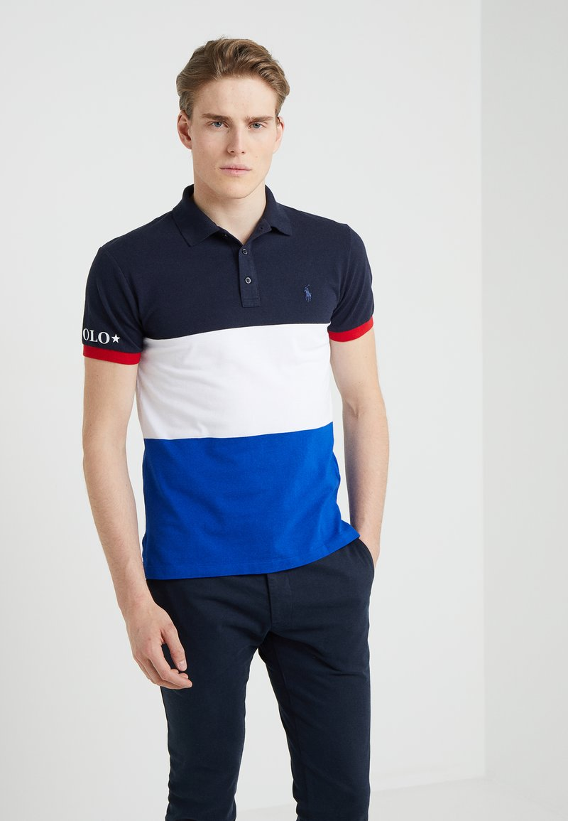 Polo Ralph Lauren - SLIM FIT - Piké - sapphire star/multi